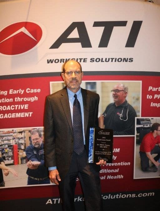 AWS' Dr. Milt Dupuy Designated as the 2018 Frank Leone Award Recipient